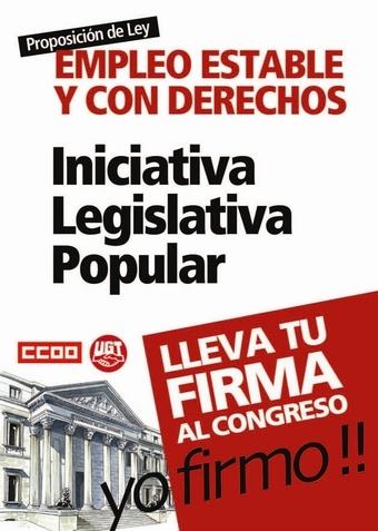 Iniciativa Legislativa Popular 20101130