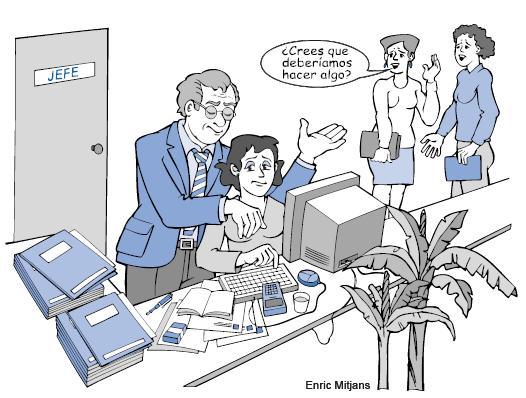 Acoso sexual en la empresa