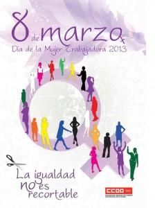 cartel 8 marzo CCOO